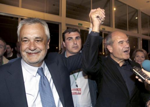 José Antonio Griñán y Manuel Chaves, en una imagen de 2012.