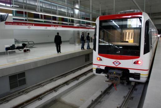 Estación de metro de la UIB.