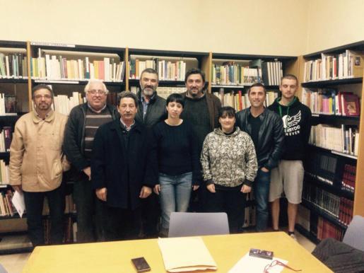 Momento de la presentación de Jaume Martí como candidatp del PSIB a la Alcaldía de Santa Maria.