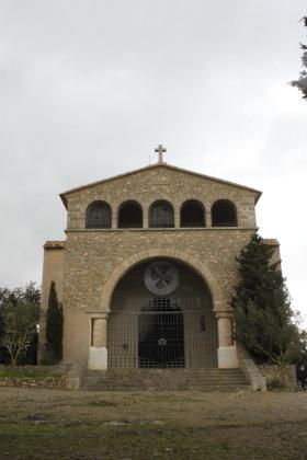 La ermita de Santa Llucia se encuentra en estado de abandono desde hace casi 20 años.