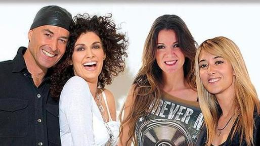 Cartel promocional de la gira de los grupos Amistades Peligrosas y Ella Baila Sola. Sus componentes han sido detenidos en Chile por trabajar sin permiso en el país.