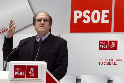 El exministro, Ángel Gabilondo.