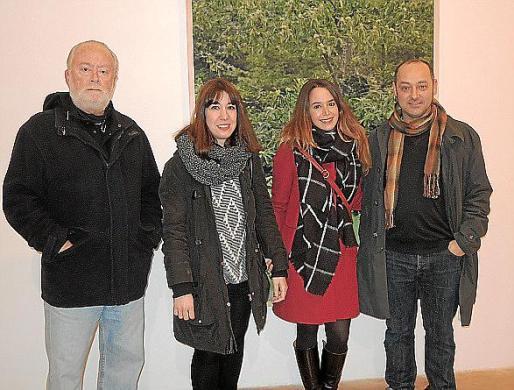 Tomàs Pizà, Marina Taura, Elena Pizà y Tomeu Simonet.