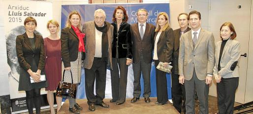 Pilar Cortés, Aina Aguiló, María Salom, Pere A. Serra, Carmen Planas, Joan Rotger, Gari Durán, Jaime Vila, Fernando Gilet y Catalina Sureda.