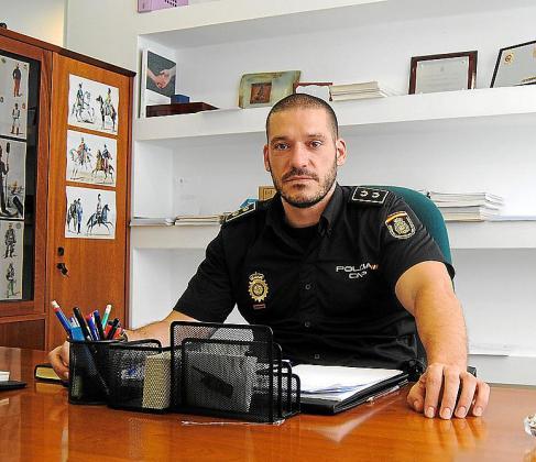 Luis Esteban, jefe de la policía de Manacor y ganador del bote de pasapalabra.