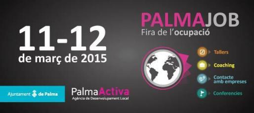 Cartel de la Feria de empleo de Palma.