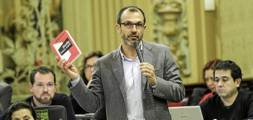 El portavoz de MÉS, Biel Barceló.