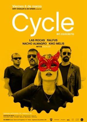 Cartel del concierto de Cycle en Es Gremi.