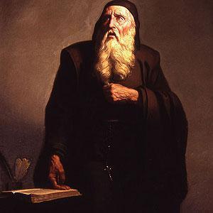 Retrato de Ramon Llull.
