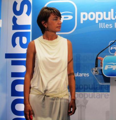 Candidata del PP a la Alcaldía de Palma, Margalida Durán.