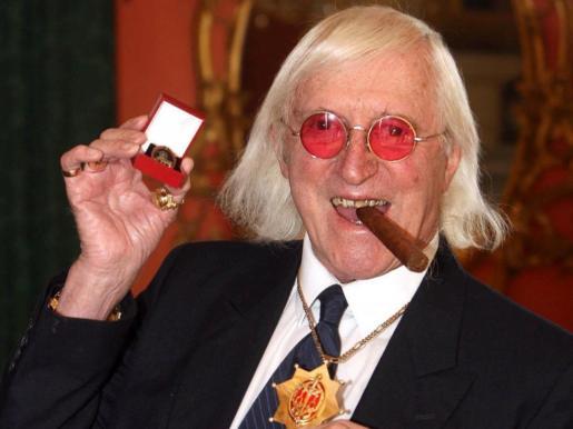 Jimmy Savile, fallecido en 2011, en una imagen de archivo.