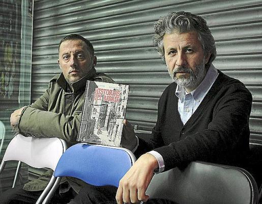 Beltrán y Seguí, autores de 'Historias del barrio. Caminos'.