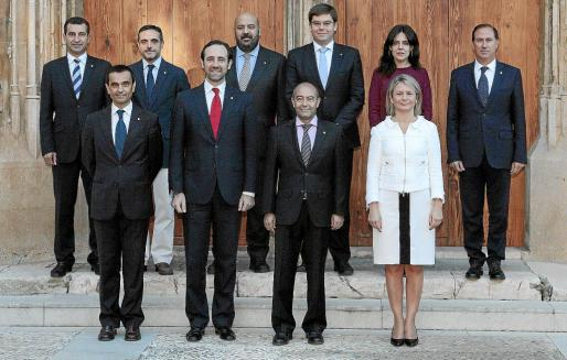 Fotografía de familia del actual Govern de José Ramón Bauzá.