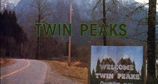 Créditos iniciales de 'Twin Peaks'