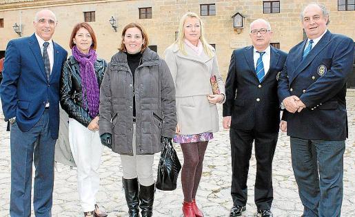 Miguel Rotger, Marta María Martínez, Ángeles Serra, Nataly Kotsenko, José Luis Ramia y Felipe Baza.