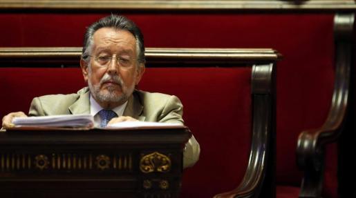 El vicealcalde de Valencia, Alfonso Grau, durante una sesión plenaria del Ayuntamiento de Valencia.