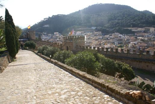 Vistas desde el Castell de Capdepera.