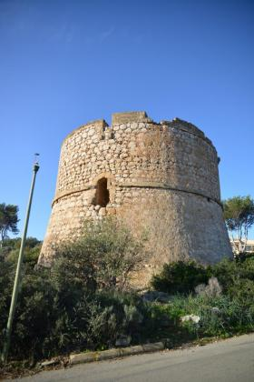 Imagen del estado actual de la Torre de la Mola.