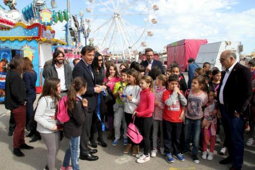 El alcalde Mateo Isern no ha faltado en la inauguración de la edición de este año.