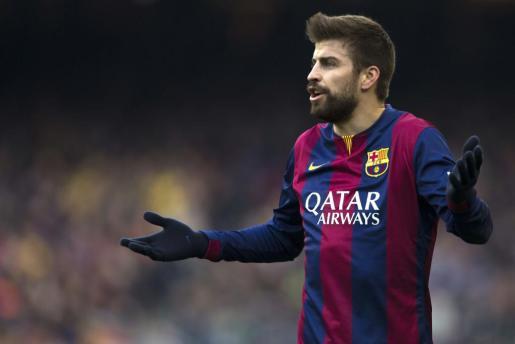 El defensa del FC Barcelona, Gerard Piqué.