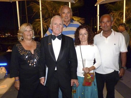 Rosa Jiménez, Manolo Herrera, Julián Delgado, Maria del Carmen Cotarelo y Rafel González-Moro.
