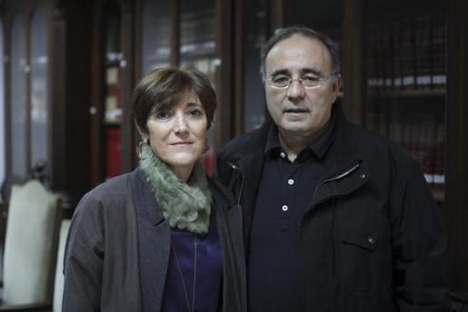 Francisca Lladó Pol y Josep Prohens.