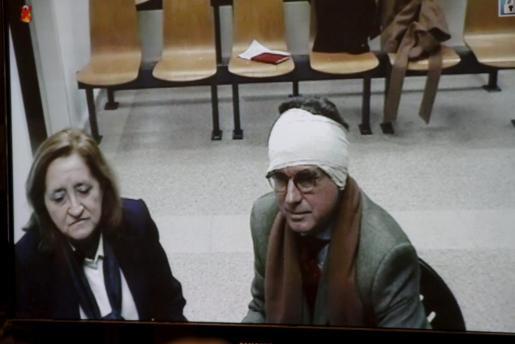 El ex president Matas comparece por vídeoconferencia ante la comisión investigadora.
