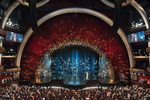 JImagen de la ceremonia de los Oscars de este año celebrada en el Dolby Theatre en Hollywood.