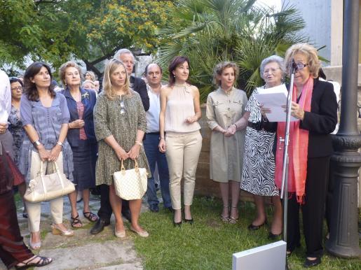 Yolanda Garví, María Antonia Parera, Maria de Lluc Alemany, Luis Corral, Andreu Ferrer, Nanda Ramon, Aina Calvo, Paulina Mir y Marisé Fernández-Segade.