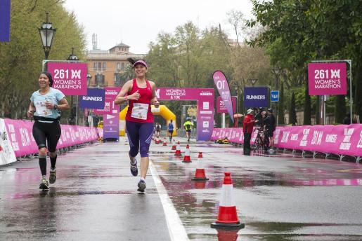 Una imagen de la 261 Women's Marathon 2014.