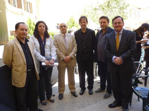 Jaume Marcé, Susana Plá, Miguel Mestre, Carles Molinet, Pere Joan y Francesc Fiol.