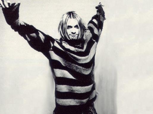 Kurt Cobain, líder del grupo Nirvana.
