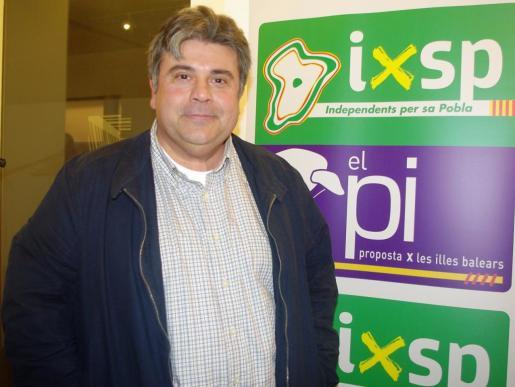 Biel Ferragut es el candidato de la coalición entre IxSP y El PI en sa Pobla.