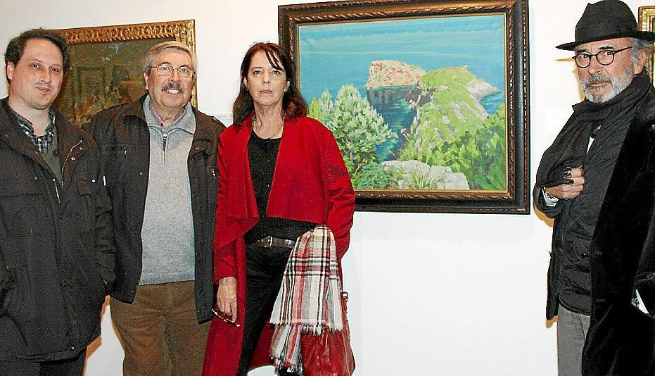 Exposición de Jo, l'Arxiduc, en e Casal Solleric