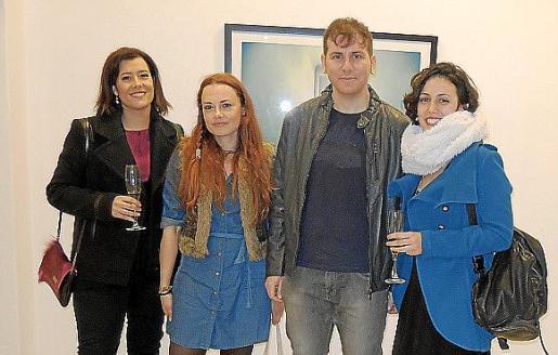 Ana Belén Martín, Ingrid Medina, Bernat Català y Neus Marí.