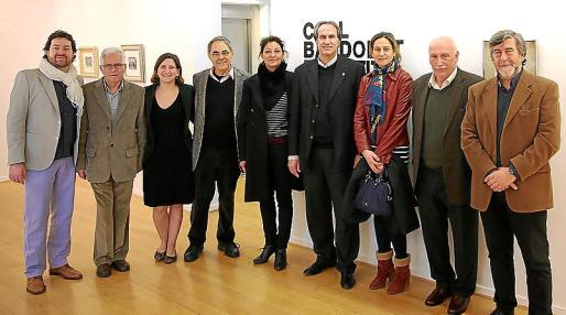 Joan Coll, Josep Coll, Amanda Corral, Biel Janer Manila, Florence Tricoire, Jaume Vila, Ana Redondo, Nadal Torres y Enric Calafell.