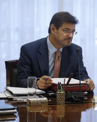 El ministro Rafael Catalá en una imagen de archivo.