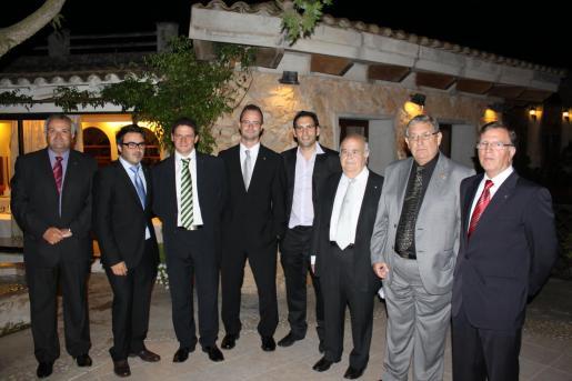 Antoni Ferrer, Justo Alejandro Pérez, Antoni Oliver, Maties Morlà, Mirko Jurisch, Justo Pérez, Antoni Miró y Jaume Llull.