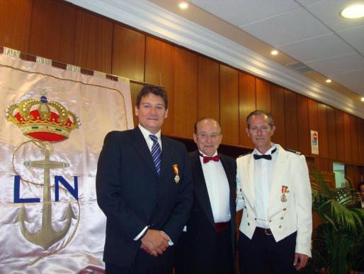 Eusebio Crespo Mesquida, Mariano Rosselló Barbará y Lorenzo Buades Zanoguera.