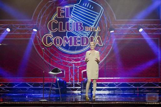 Eva Hache, en una imagen del programa El Club de la Comedia.