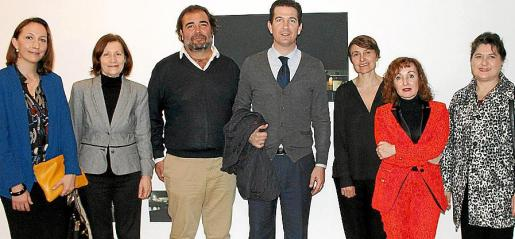 Montserrat Jaén, Catalina Sureda, Fernando Robledo, Fernando Gilet, Cécile Bourne-Farrell, Nekane Aramburu y Elvira Cámara.