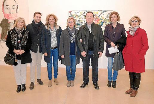 Xavier Ramis, Antònia Sabater, Isabel Serra, Biel Amer, Paz Alcoberro, Josep Maria Alcover y Tomeu Simonet.