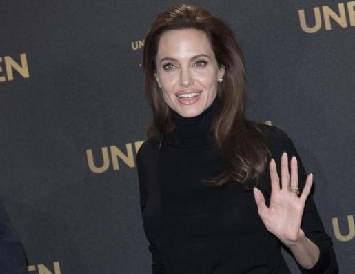 La actriz y directora estadounidense Angelina Jolie.