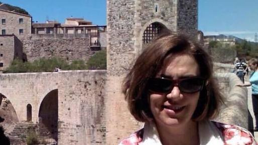 Pilar Vicente, profesora fallecida en el accidente del Airbus320 de Germanwings en los Alpes.