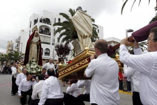 Imagen del año pasado de la Procesión del Santo Encuentro.