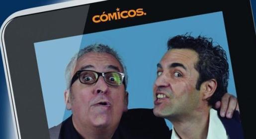 Fotografía promocional de Leo Harlem y Sergio Olalla.