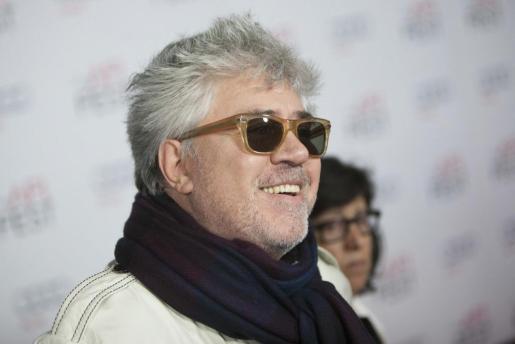 Imagen del director español de cine Pedro Almodóvar.