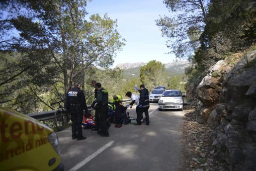 Un ciclista de unos 70 años ha muerto este viernes por la mañana, en la carretera Ma-1031, que va de Es Capdellà (Calvià) a Andratx.
