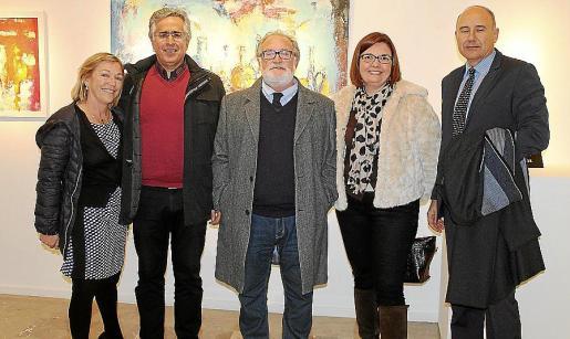 Camargo presenta su obra en Sa Nostra