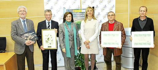 Sergio Alonso, Pedro Morell, María José Guerrero, Teresa Palmer, Sebastià Bonet y Antonio Quevedo.
